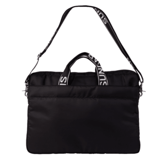 BLACK 15-INCH SUNDAR LAPTOP BAG
