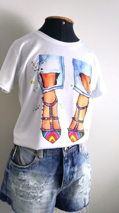 T-shirt Silk - Personalle Boutique