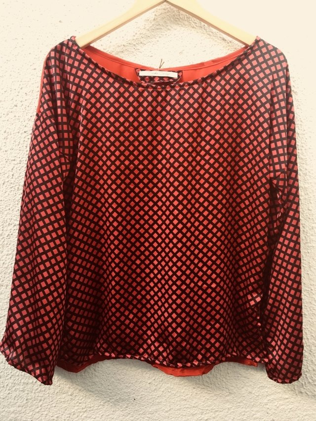 BLUSA ROUGE GOLDE AGE
