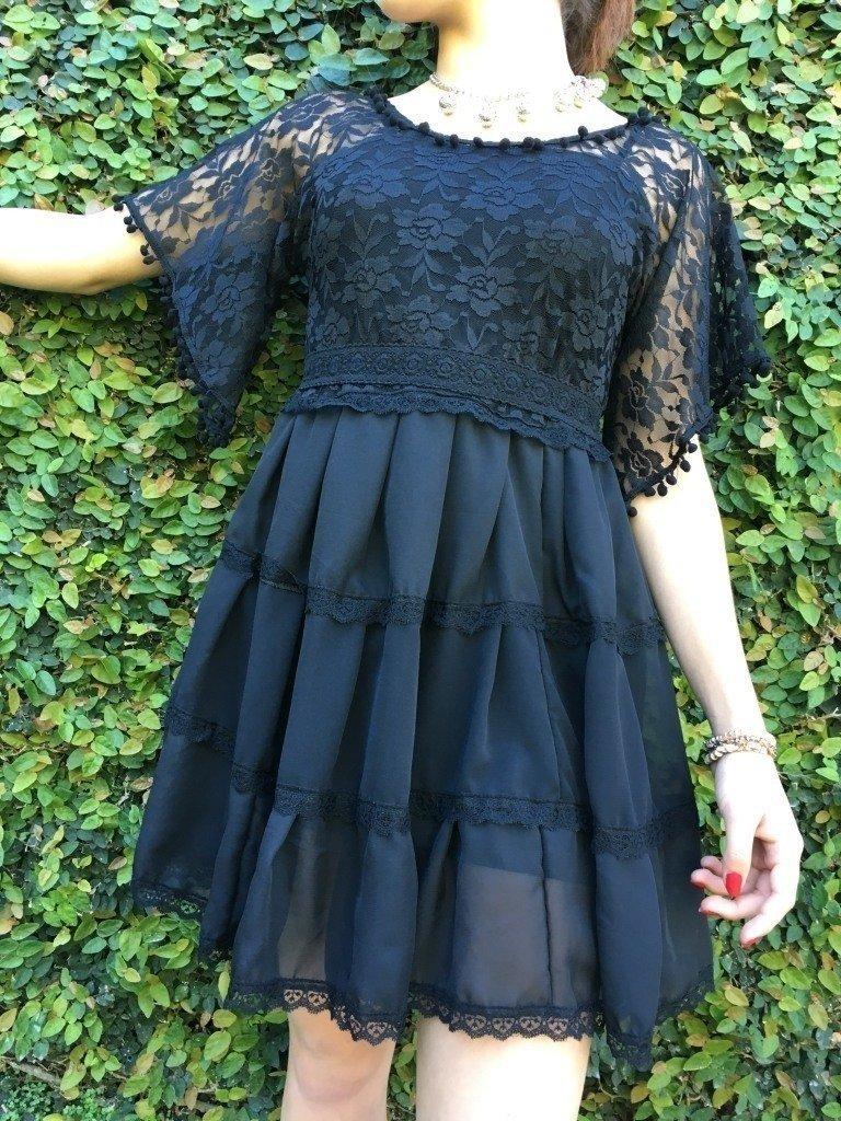 Vestido Jazmin Negro