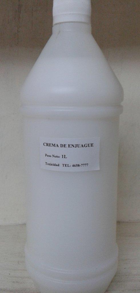 Crema enjuague base