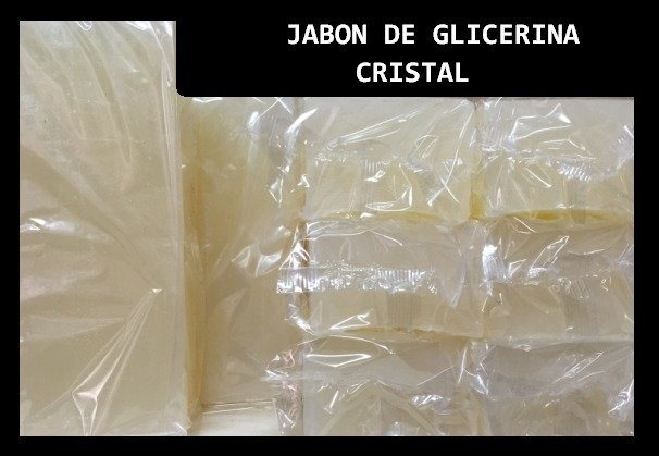 Jabon de Glicerina Cristal