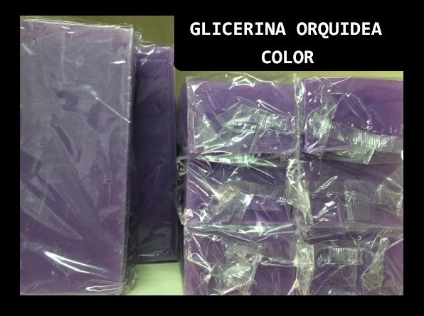 Jabon de Glicerina Color