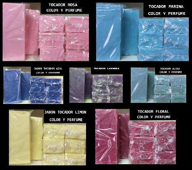 Jabon de Tocador Color y Perfume