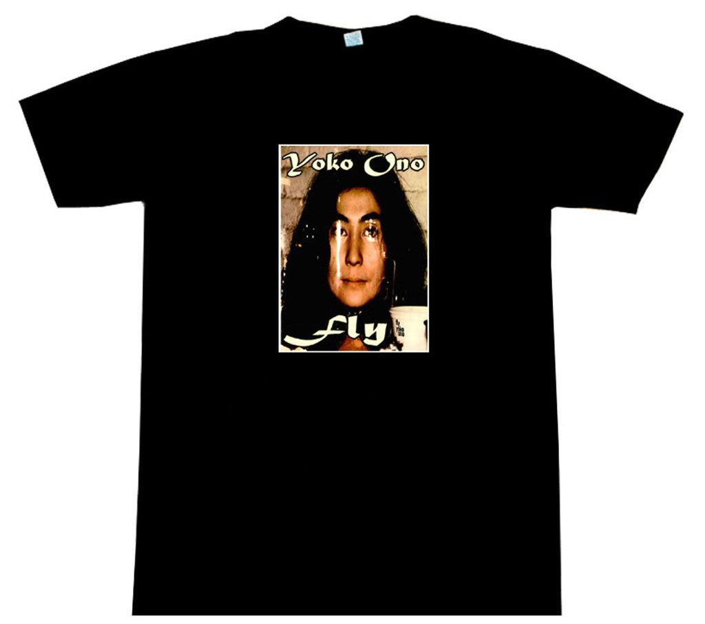 Yoko Ono Fly John Lennon T Shirt Beautiful