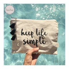 Sobres de mano Necessaires Keep Life Simple
