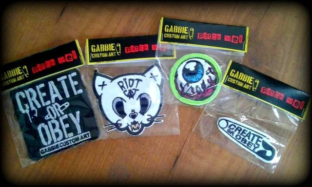 Combo Sticker Pack + Patch! - comprar online