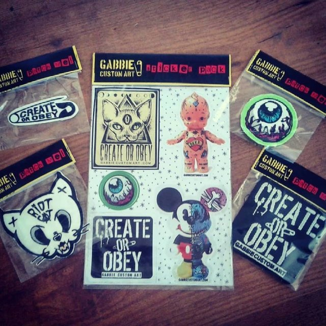 Combo Sticker Pack + Patch!