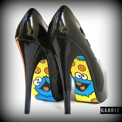 Cookie Monster Stilettos