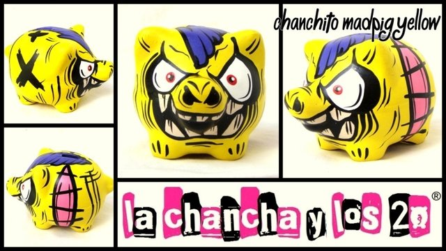 Chanchito Alcancia Madpig Yellow en internet