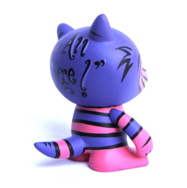 Cheshire Cat Art Toy - Gabbie Custom Art