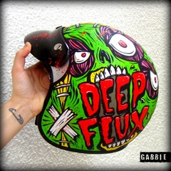 Casco CREATE or OBEY - Gabbie Custom Art