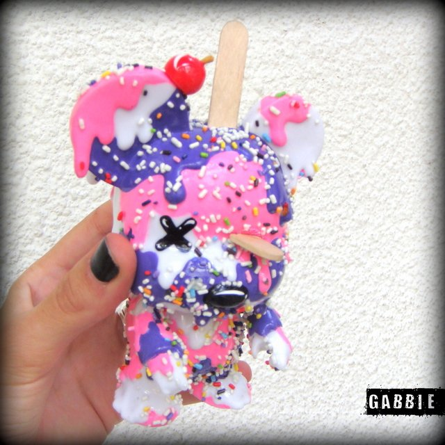 Sweetest Art Toy - Gabbie Custom Art