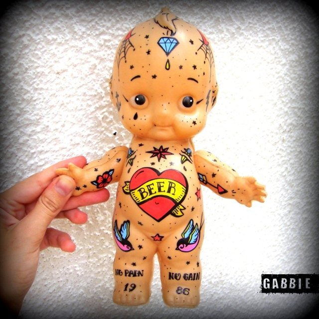 Kewpie Tattoo Baby Art Toy