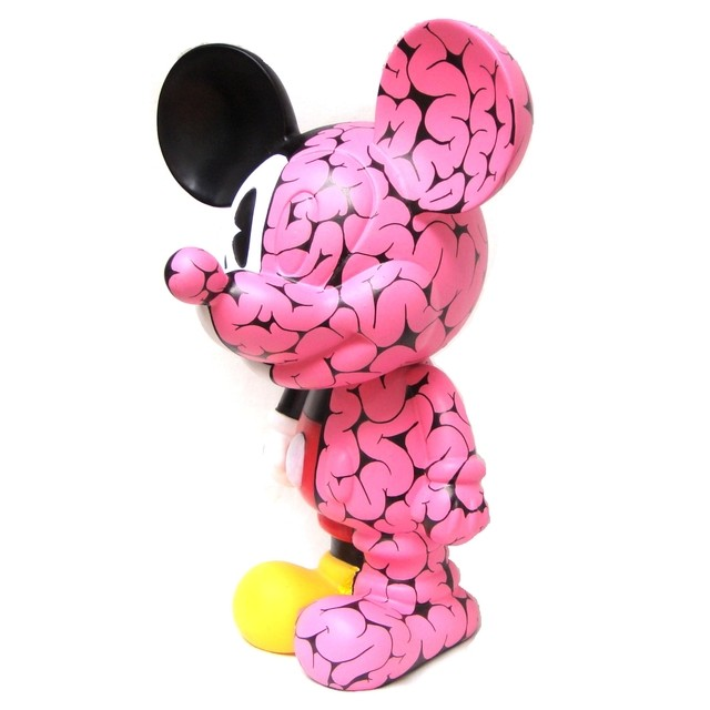Brains Half Mickey Art Toy en internet