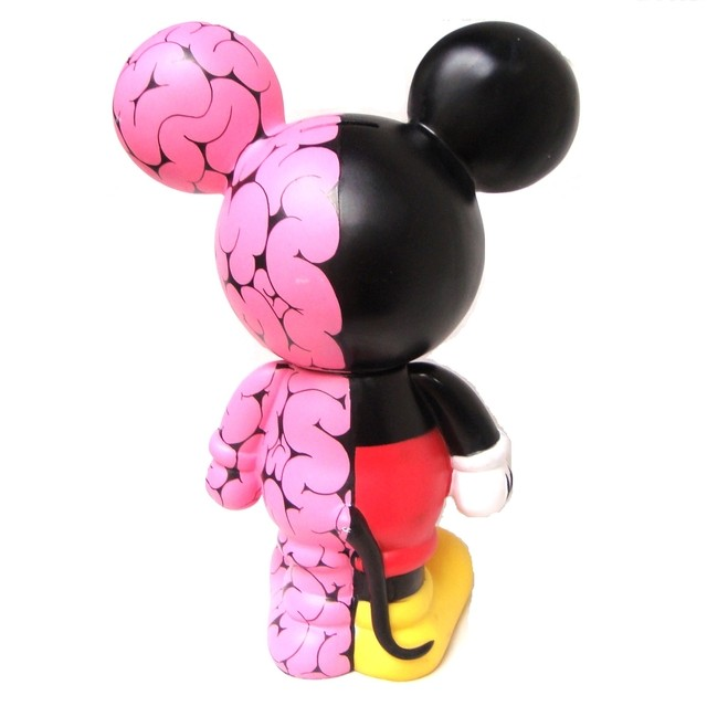 Imagen de Brains Half Mickey Art Toy