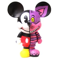 Cheshire Half Mickey Art Toy - Gabbie Custom Art