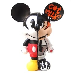 Clockwork Half Mickey Art Toy - Gabbie Custom Art