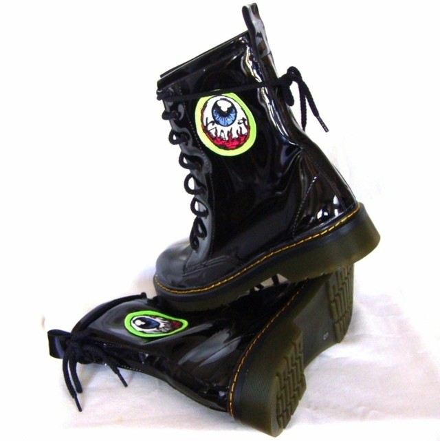 Eye Am Watching! Combat Boots en internet