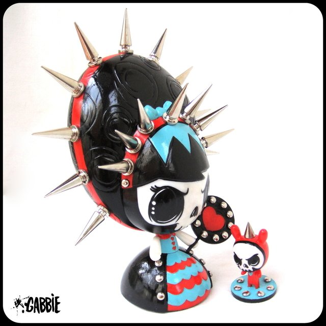 Queen of Hearts Lolligag Art Toy - comprar online