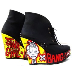 Tank Girl Booties en internet
