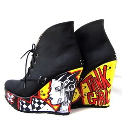 Tank Girl Booties - Gabbie Custom Art