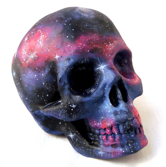 Galaxy Skull - Gabbie Custom Art