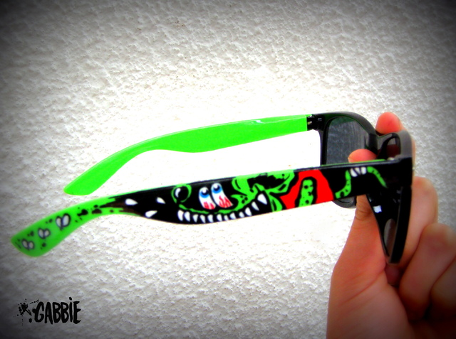 Rat Fink Eyewear - Gabbie Custom Art