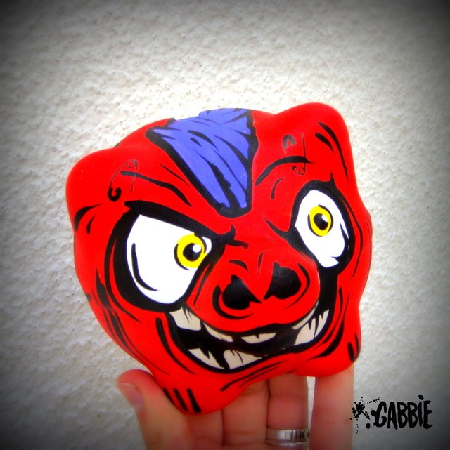 Chanchito Alcancia Madpig Red - comprar online