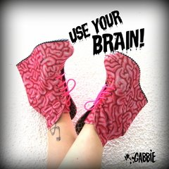 Use Your Brain! Booties
