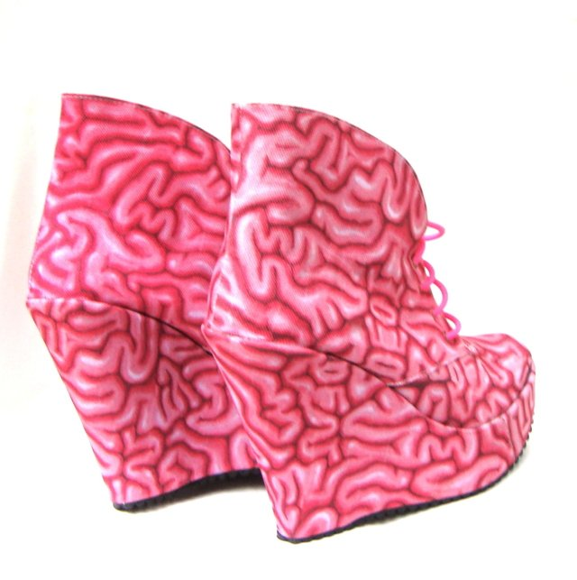 Use Your Brain! Booties - tienda online