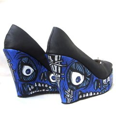 Pretty Creepy Blue -Plataformas Abiertas - Gabbie Custom Art