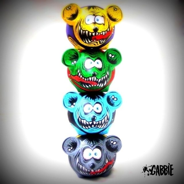 Rat Fink Dead II - Gabbie Custom Art