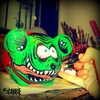 Rat Fink Green en internet