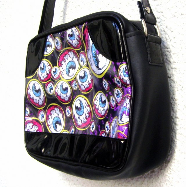 Cartera Many Eyes Watch! - Gabbie Custom Art