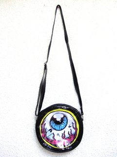 Cartera Eye Am Watching! (Borde Amarillo) - comprar online