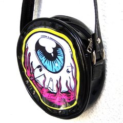 Cartera Eye Am Watching! (Borde Amarillo) en internet