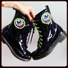Eye Am Watching! Combat Boots - comprar online