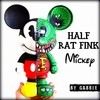 Half Rat Fink Mickey Art Toy - comprar online