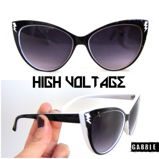 Anteojos Importados High Voltage Black & White - comprar online