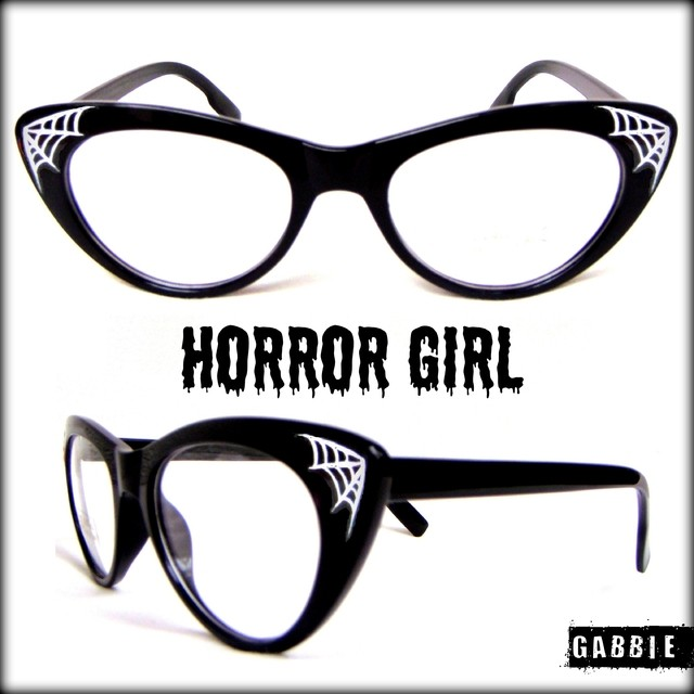 Anteojos Importados Horror Girl White