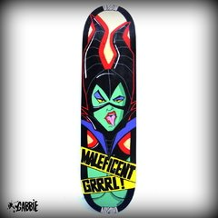 Tabla de Skate Maleficent Grrrl!