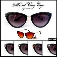 Anteojos Importados Metal Cat Eye