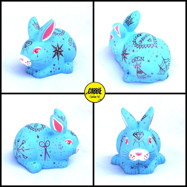 Tattoo Bunny Art Toy