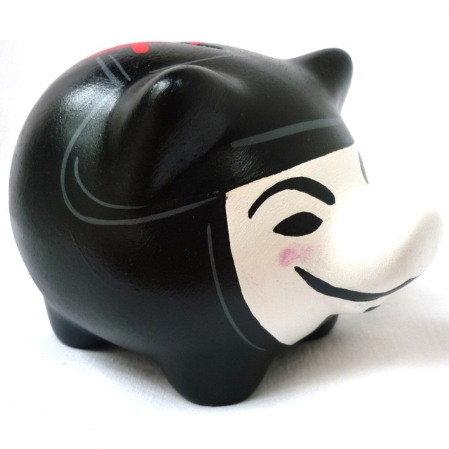 Chanchito Alcancia V de Vendetta en internet
