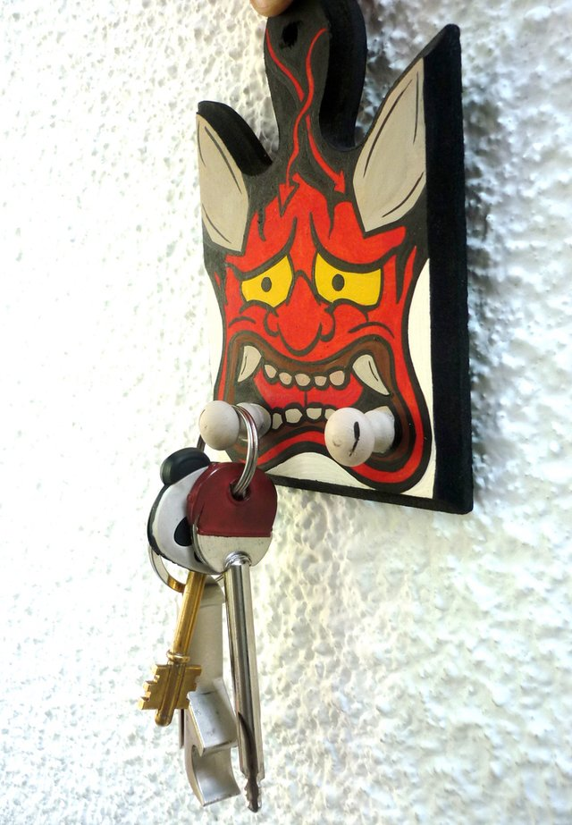 Cuelga Llaves Japanese Demon