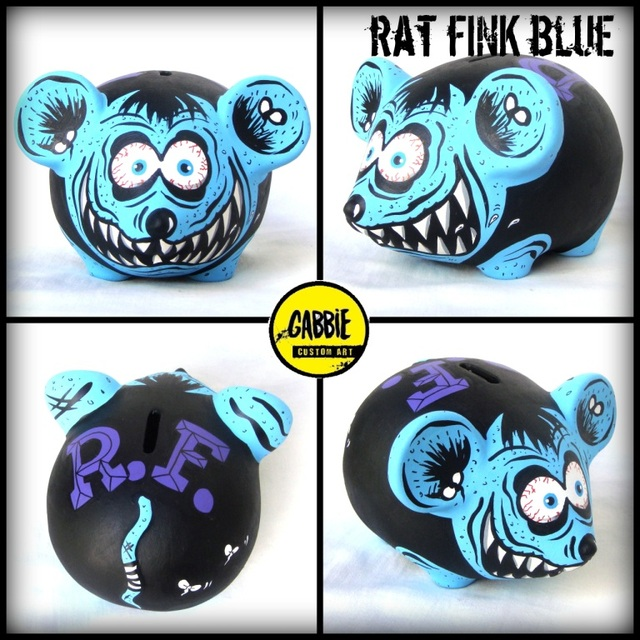 Rat Fink Blue