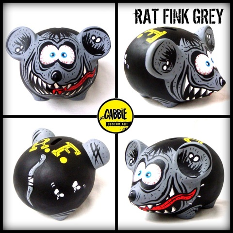 Rat Fink Grey