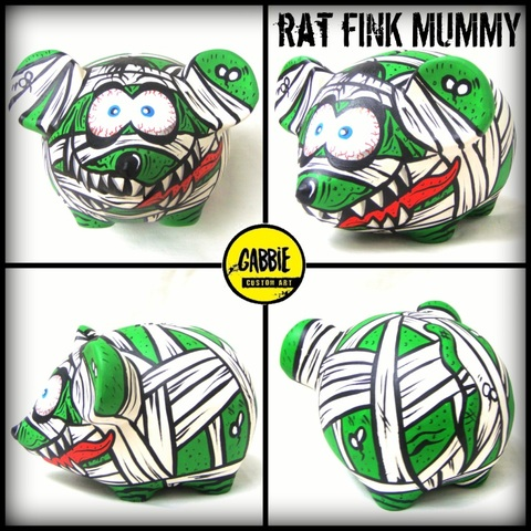 Rat Fink Mummy