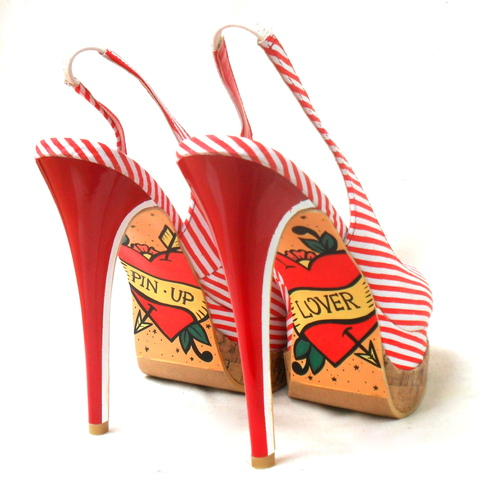 Pin Up Lover Stilettos - comprar online